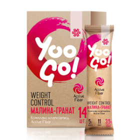 Yoo Go - Напитка Weight Control (малина-нар)